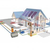 Пример схемы канализации и водоснабжения