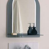 Полукруглое зеркало