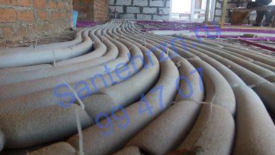 Трубы под стяжку